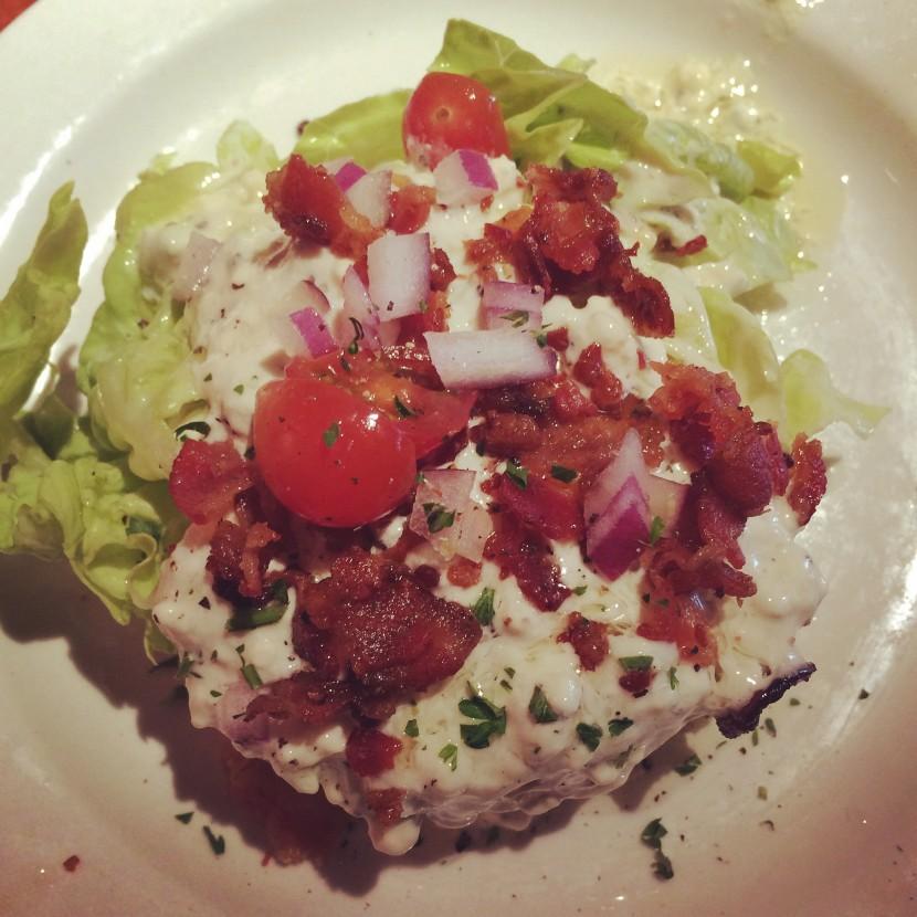 gluten free wedge salad
