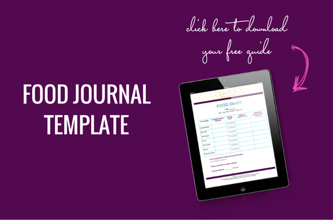 FREE Food Journal Template - Jenna Drew