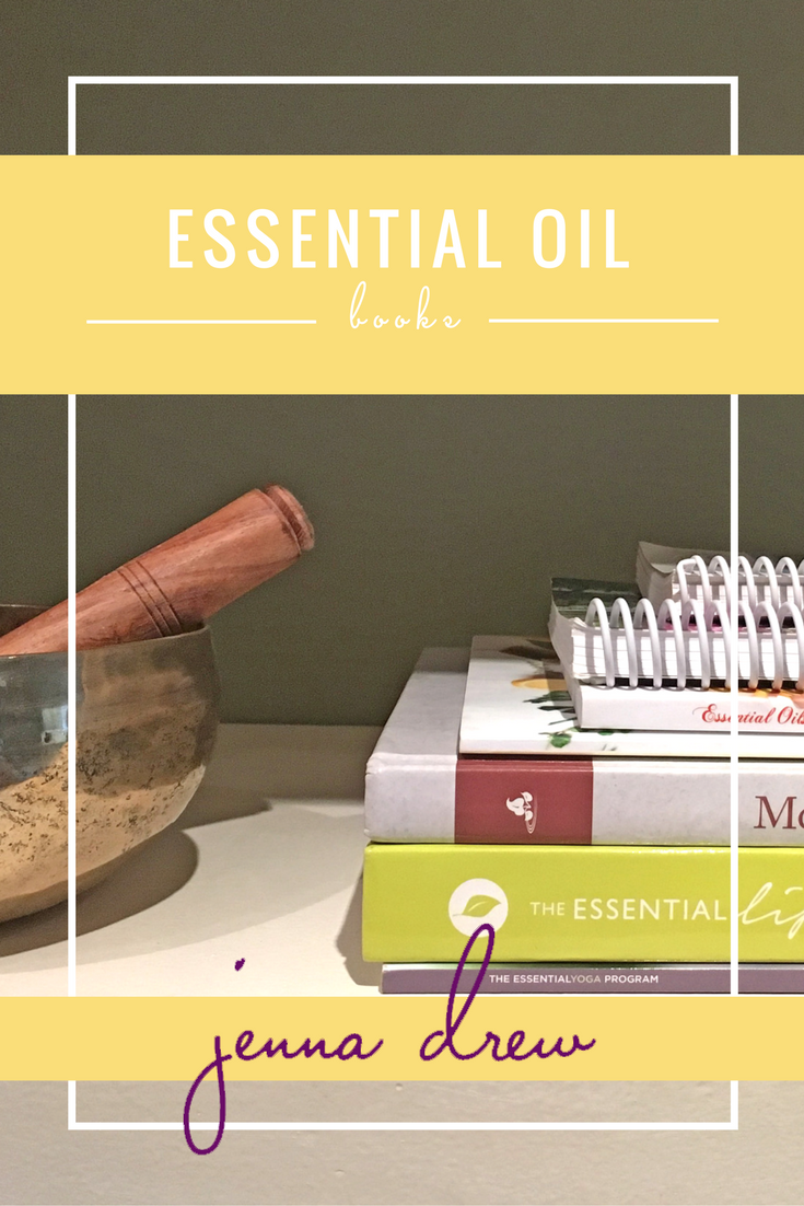 Essential Oil Reference Books - JennaDrew.com