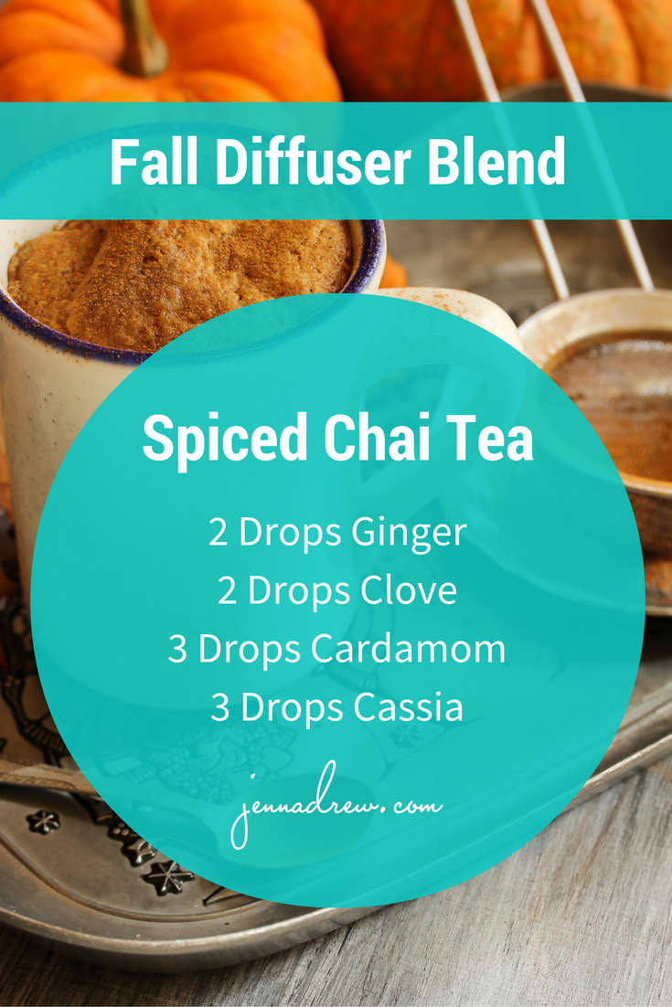 Fall Diffuser Blend Spiced Chai Latte - JennaDrew.com