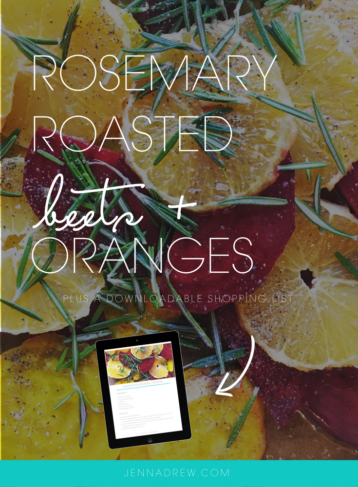 rosemary roasted beets