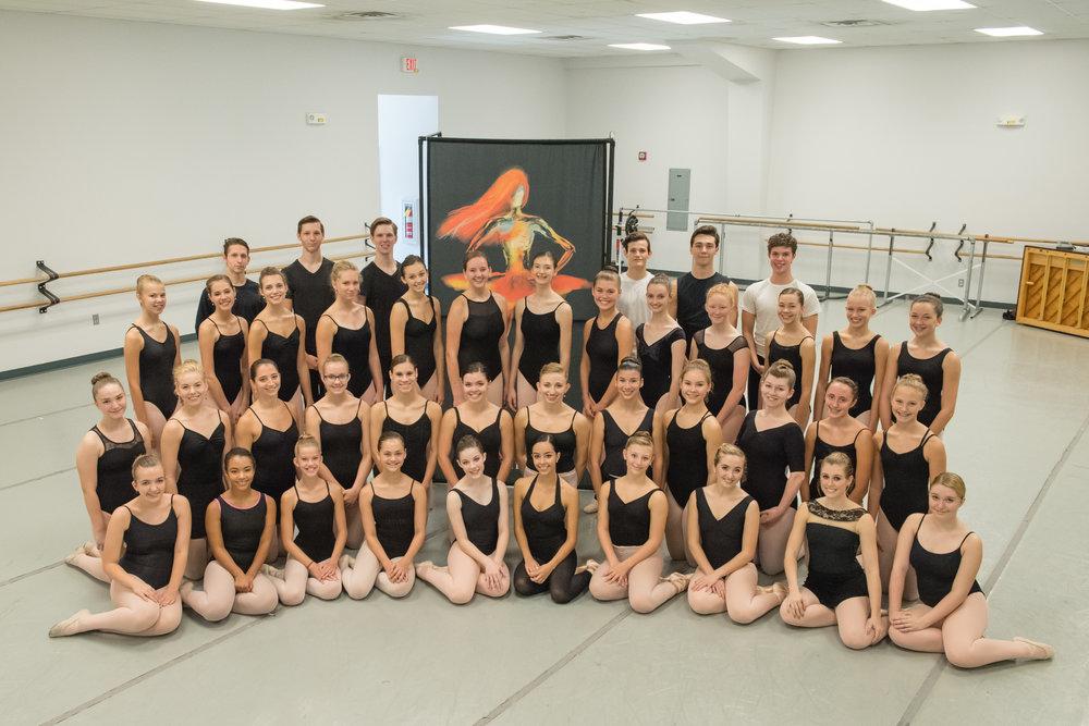 2018-2019 Huntsville Ballet company