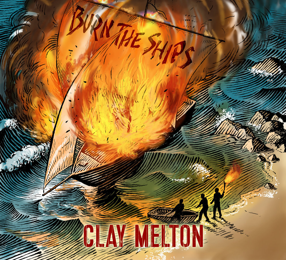 Burn the Ships, released September 2017   album artwork by Dick Reeves
