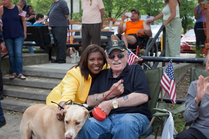 Veteran and dog - Memorial Day 2015.jpg