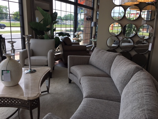 Visit our beautiful store today! - The best furniture brands, the best prices, and unlimited customization options. Stop in today to begin creating your ideal space and let our designers help you!