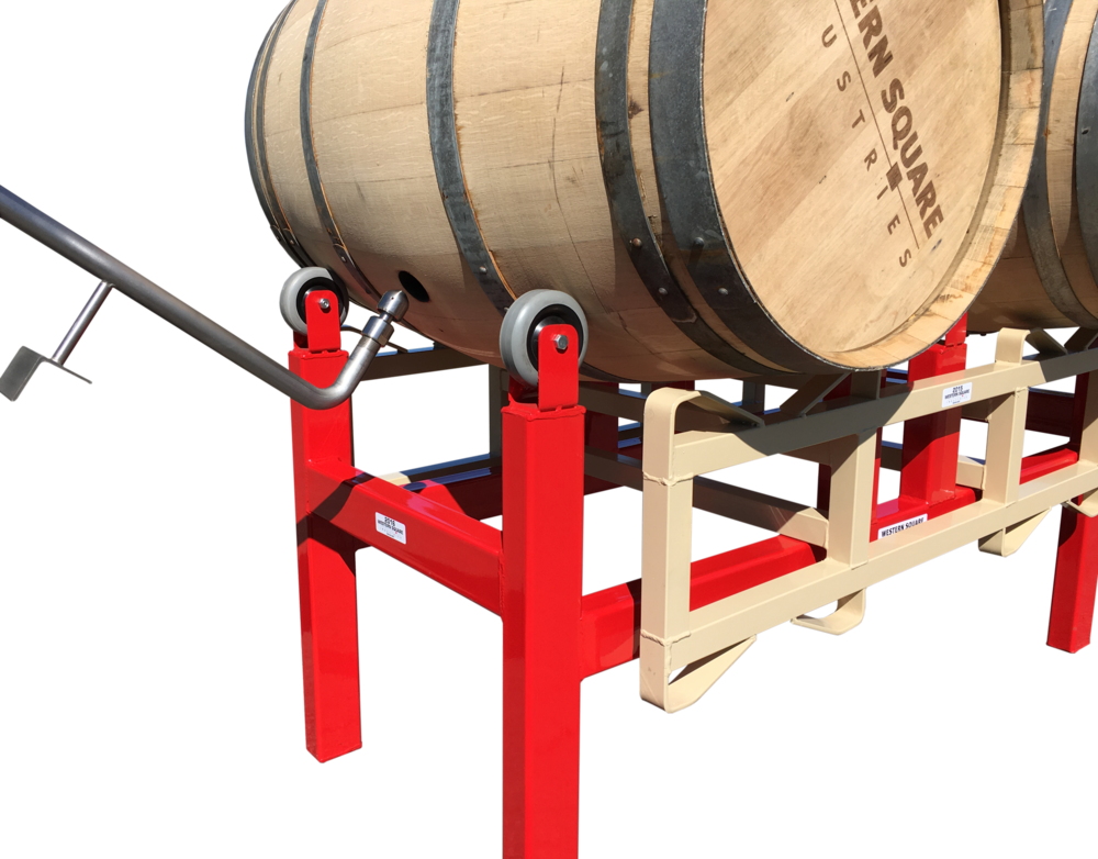 Barrel Washing System with Wand