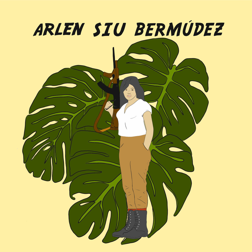 Arlen Siu was a Chinese Nicaraguan HERO who became one of the first female martyrs of the Sandinista revolution. In doing my research, I really couldn't find too much on her story let alone photos so I took inspo from  @jobonilla  who is the embodiment of grace & smarts along with images of Salvadorean women during the 70's. Only the best for Arlen.
