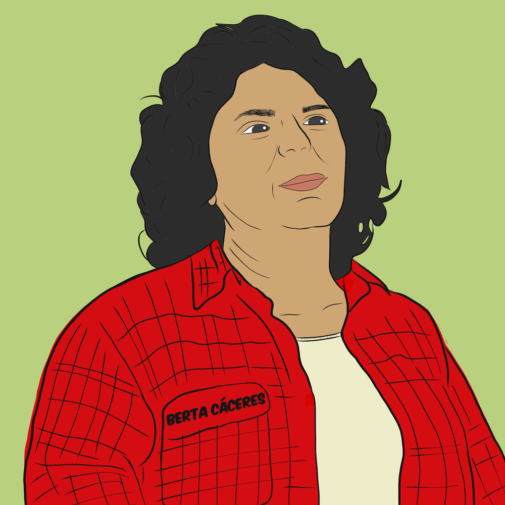 Berta Isabel Cáceres Flores was an Honduran environmentalist activist, indigenous leader, co-founder & coordinator of the Council of Popular and Indigenous Organizations of Honduras and a  #CentralAmericanHeros  .  She spent her life working to defend the habitat and rights of the Lenca indigenous people, the largest in Honduras and the community she was born into. She led a grassroots campaign that successfully pressured the 🌎's largest dam builder to pull out of the Agua Zarca Dam at the Río Gualcarque. Her efforts not only conserved the area but she also won the Goldman Environmentalist Prize in 2015 for her efforts.  She was murdered March 2, 2016 and is one of many examples of the risks environmental activists face around the world, with Honduras currently holding the highest killings of environmental and land defenders per capita in the world.   #SayHerName   #BertaCáceres