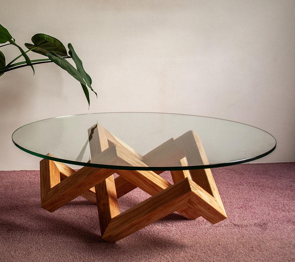 Houten Salontafels Modern.De La Rie Design