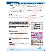 Facebook-Process Of Posting Boosting