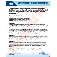 WEBSITE TAKEOVER -   COMMON SCENARIOS