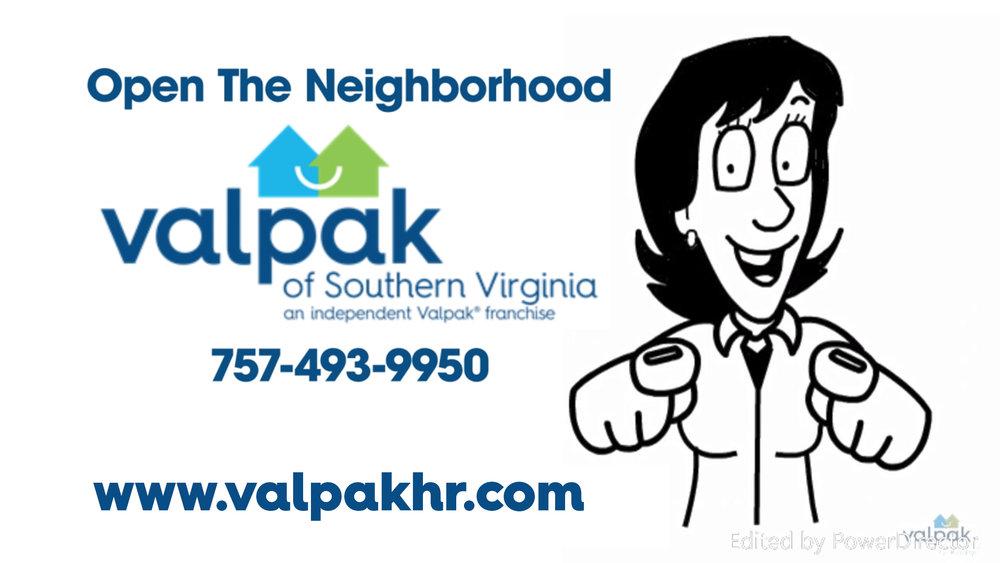 VIDEO:    VALPAK OF SOUTHERN VIRGINIA - Marketing Solutions White Board
