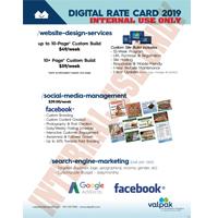 DIGITAL RATE CARD 2019