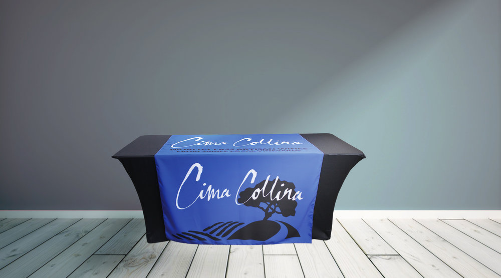 Cima Collina Table Runner Grey Wall.jpg