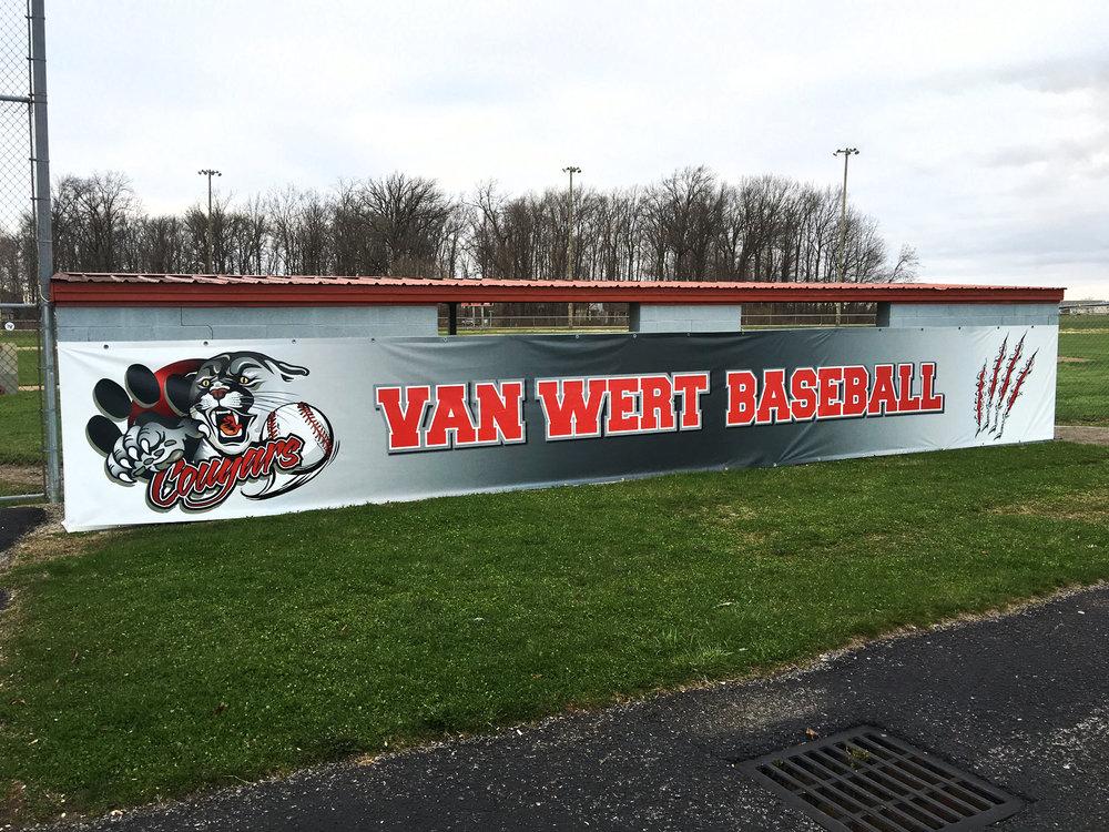 20160330 - Van Wert Baseball Field Banner.JPG