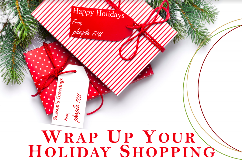wrap up your holiday shopping