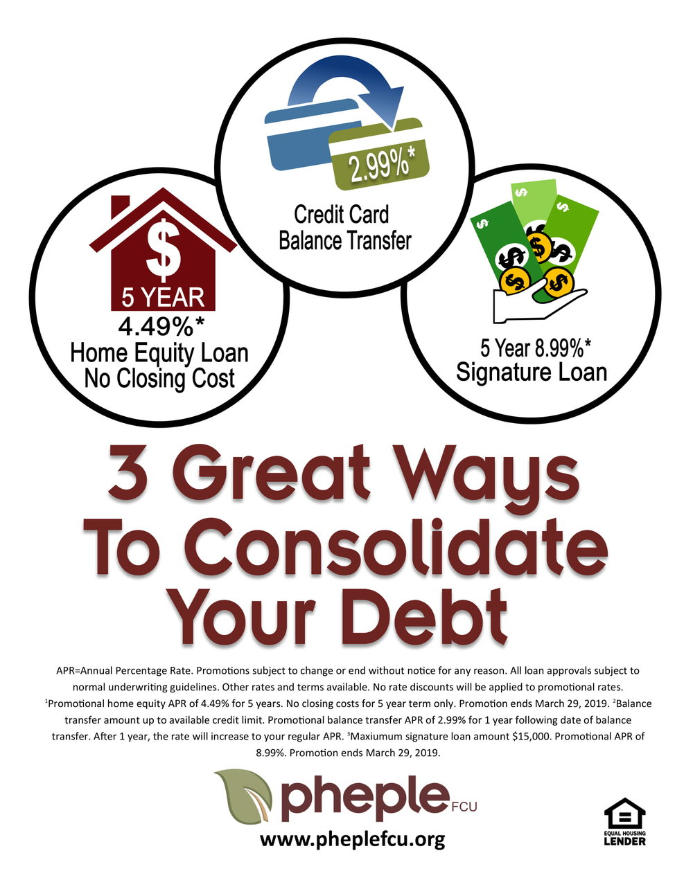 3 Great Ways to Consolidate Your Debt
