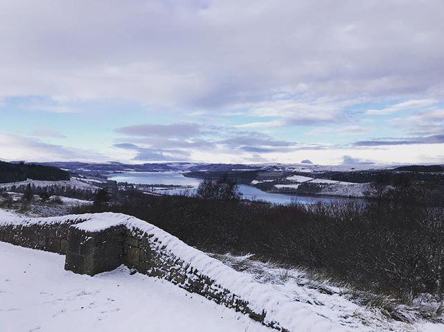 Got to love that Million Dollar View from the Struie to home 😍 Beautiful snowy day ❄️ #wildhighlanddrinksco #kyleofsutherland #highlands #milliondollarview