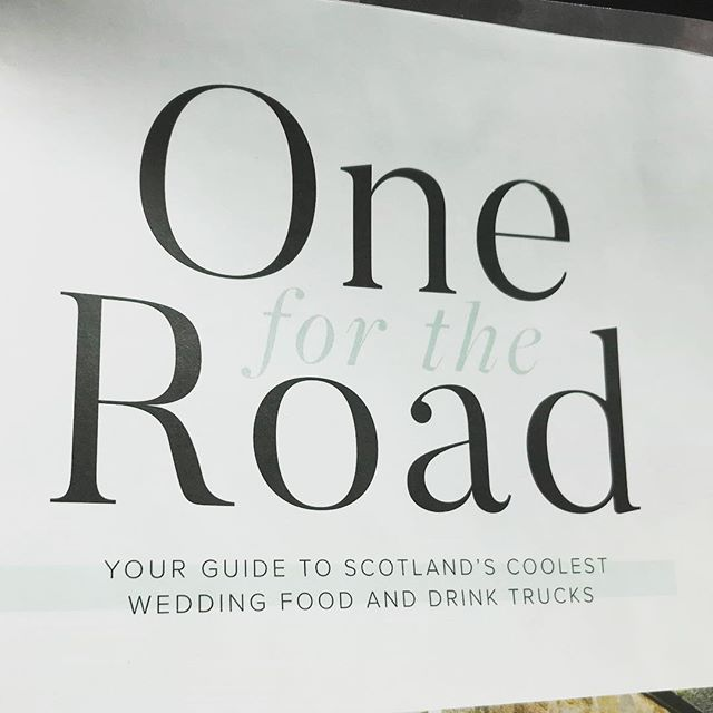 Anyone who's picked up the new Spring edition of @swdmagazine will come across a very familiar wee van 😍 We were delighted to be asked to feature in the Scotlands coolest food and drinks trucks article 🥂 The Wee Dram Van (and its candyoss Prosecco) is famous once again 😉 💖 🏴 🥂 #theweedramvan #wildhighlanddrinksco #scottishwedding #highlandwedding #highlands #scotland #prosecco #candyflossprosecco #springbride