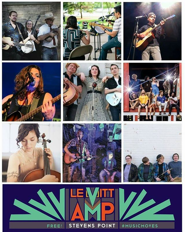 Excited to be a part of the #levittamp series in Stevens Point! See us at pfinner park on August second! Then stick around to see Occidental Brothers Dance Band International #Stevenspoint #localmusic #localmuscians #concert #wilhelm #musicmoves