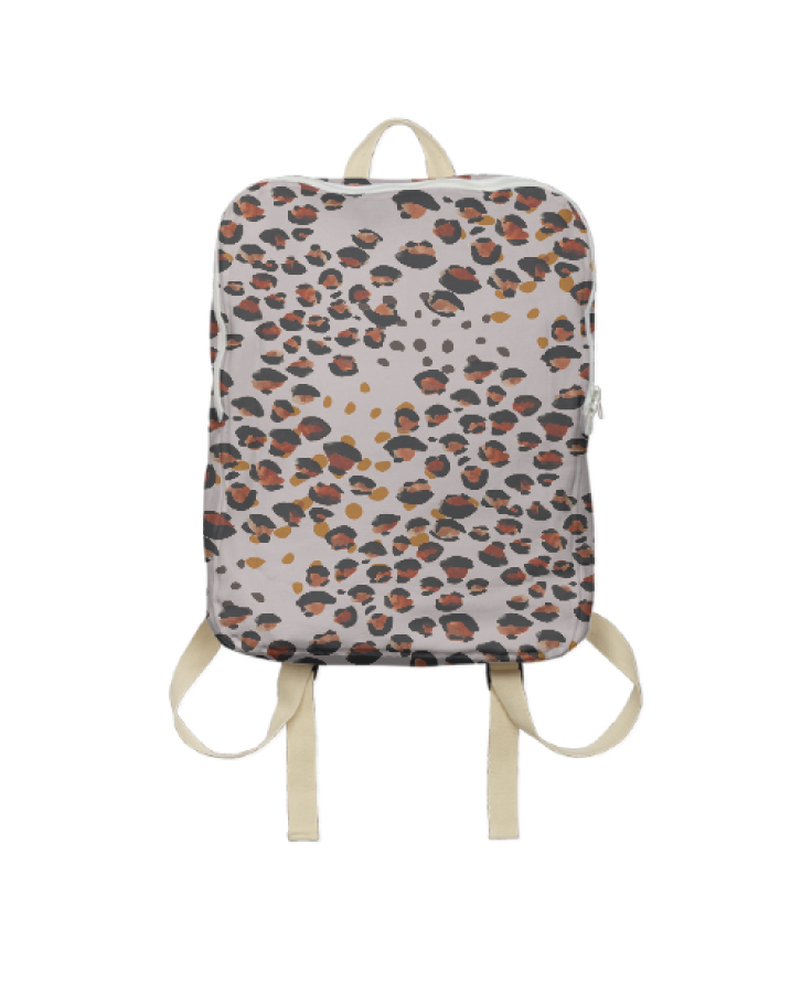 In fact, I went ahead and printed it on something ___ - this adorable backpack that I'll use with my little ladies when we head out on day trips to the park or zoo or beach. Basically ALL the wild adventures we go on.Get one here.