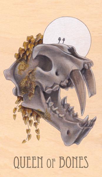 queen of bones, 2014.