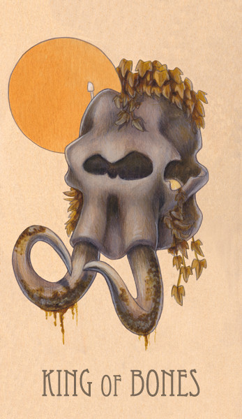 king of bones, 2014.