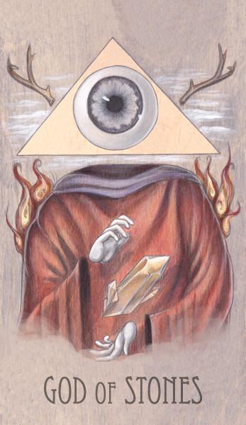 god of stones, 2014.