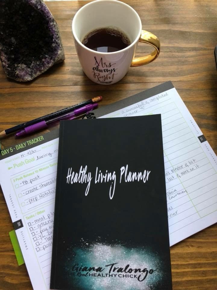 Click image to get your very own Healthy Living Planner
