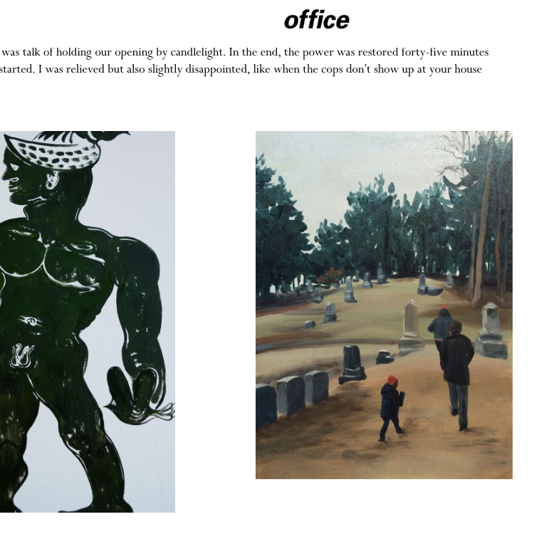 OFFICE MAGAZINE  MAY 14, 2018 Serve the People Lucien Smith, Bill Powers, STP Group Show NY, Milk Gallery   View More