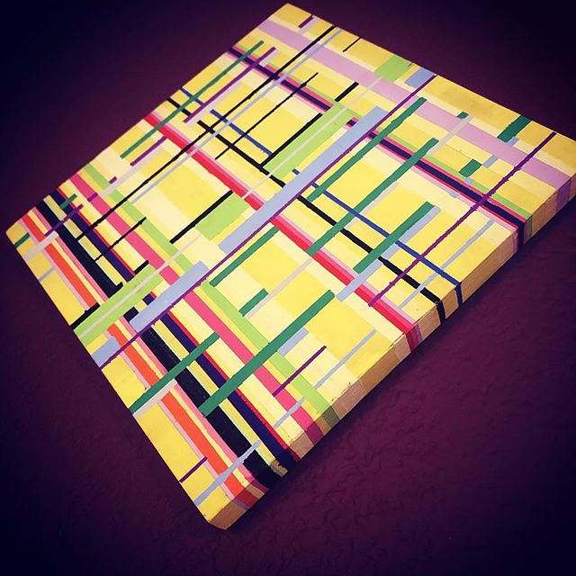 Gouache on wood panel. 8x8 #gouache #gouachepainting #art #atxart #atxartist #instaart #instaartist #artist #texasartist #painting #design #artwork #instagram #briefcase #briefcase #brush #eastaustin #eastaustinstudiotour #primarycolors #mix #create #sxsw2019 #sxsw #vintage #makeart #border #thewall #donaldtrump #donaldduck #tag #austintexasart