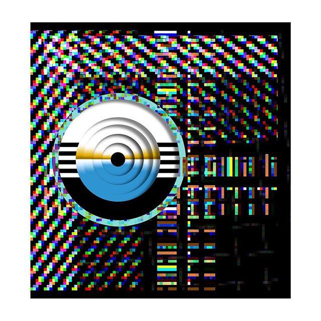 Floppy Disc. #floorplans #floppydisk #microsoft #glitchart #media #match #depth #oldtechnology #contemporaryart #art #newmedia #newmediaart #artist #artistsoninstagram #artistsoninstagram #glitch #rgb #vj #technology #future #atx #computerscience #computers #drawing #illustration