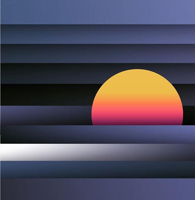 Vanilla #sundown #depth #3d #papercutout #gradient #blend #shape #illustrator #illustration #beach #sunset #atxgraphicdesign #atx #coast #edm #techno #art #artofinstagram #drawing #adobe #vector #vectorart #newmedia #design #designer
