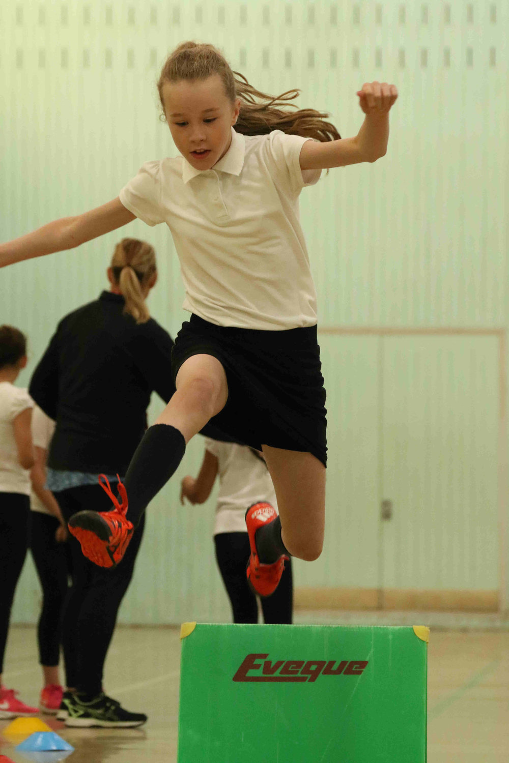 Year 5&6 Sportshall Athletics @ Ossett Academy   With teams from Southdale, South Parade, Holy Trinity, Gawthorpe and Towngate  More photos at  Year 5&6 Sportshall Athletics