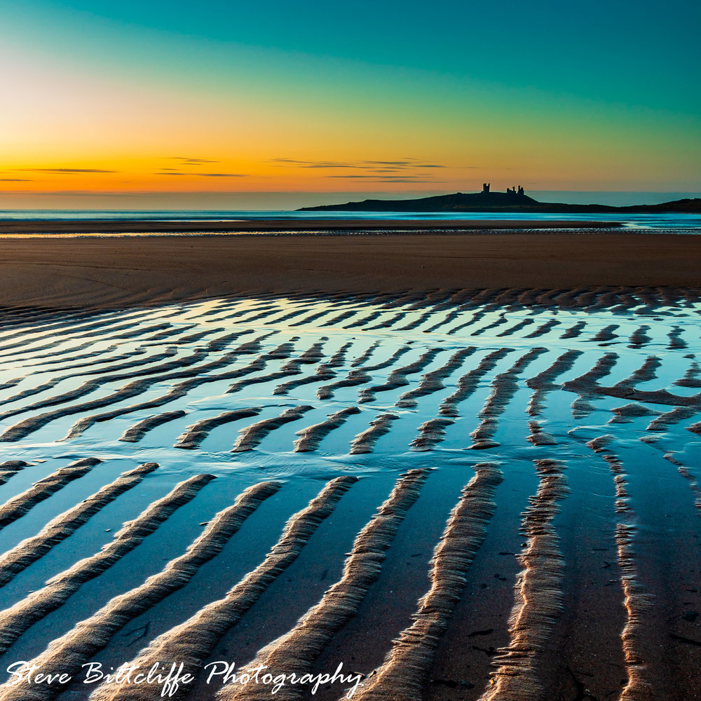Embleton Beach - Colours in the Sane