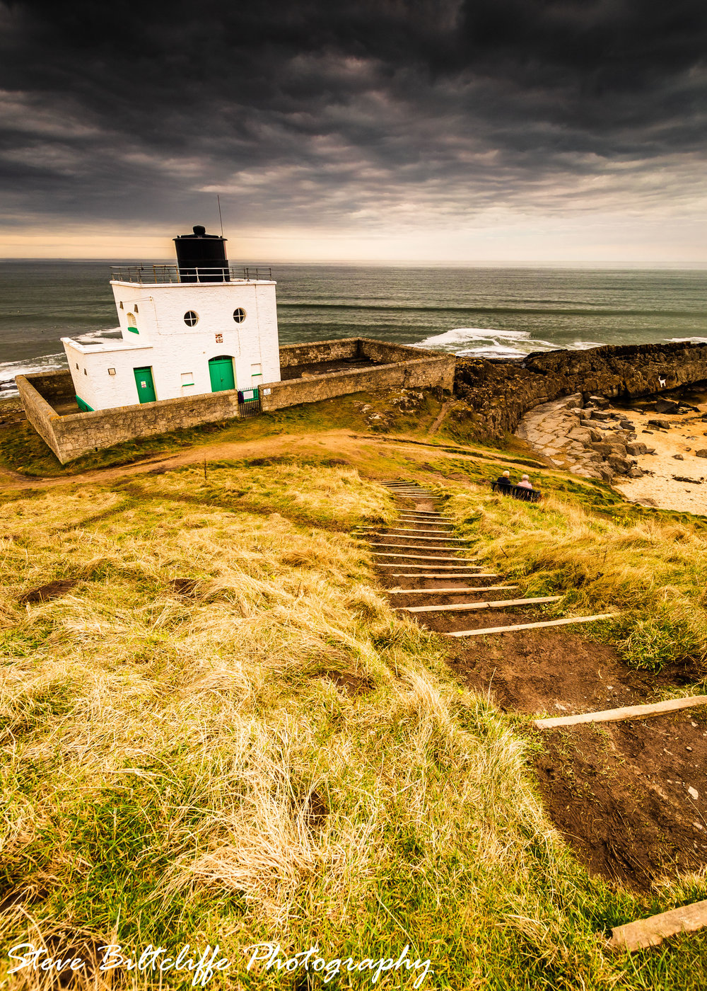 Bamburgh - The lighthouse that is always so shocked to see you