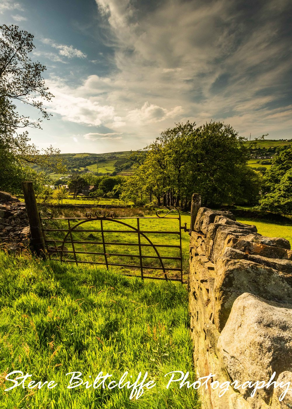 Colne Valley - Through the Gate