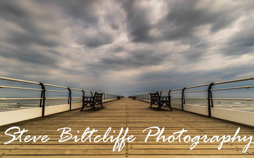 Saltburn Pier - Just me and the storm clouds