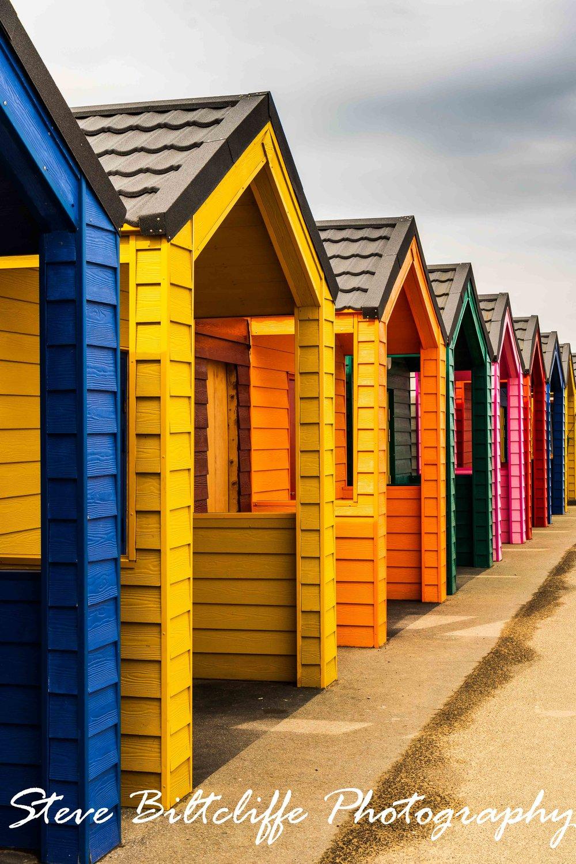 Saltburn - Rainbow Beach Huts