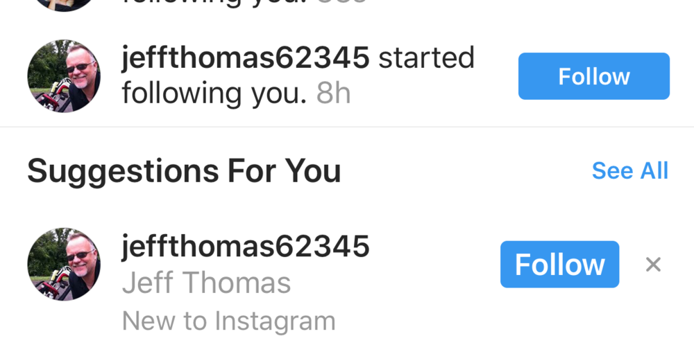 Jeff Thomas New to IG