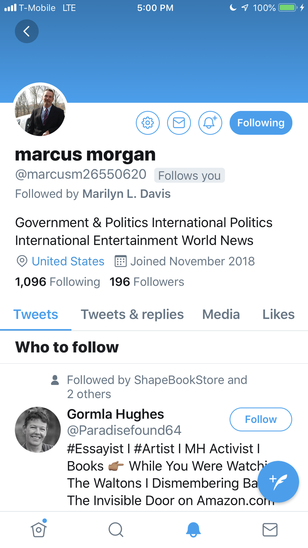 Marcus Morgan Follow