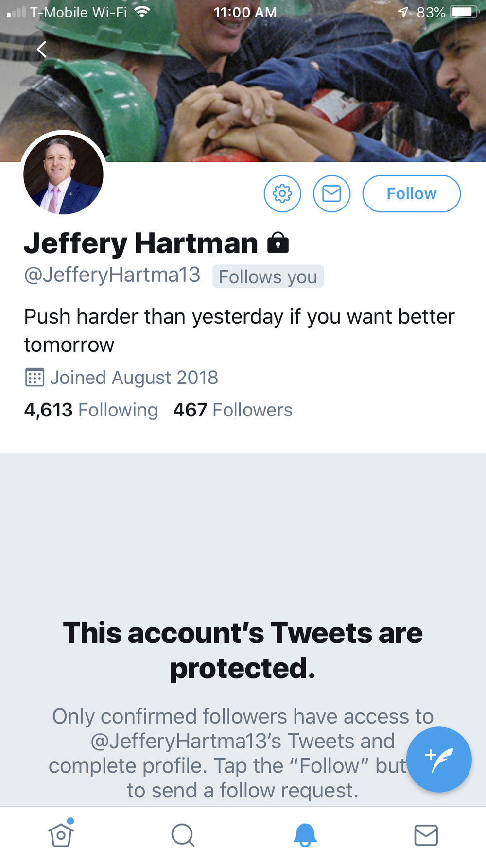 """Jeffery """"Hart""""man"""