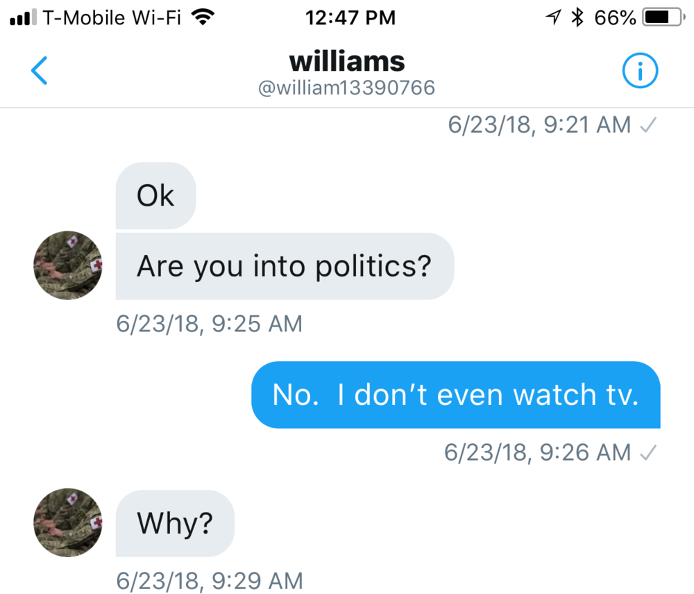 Williams 133 Into Politics?