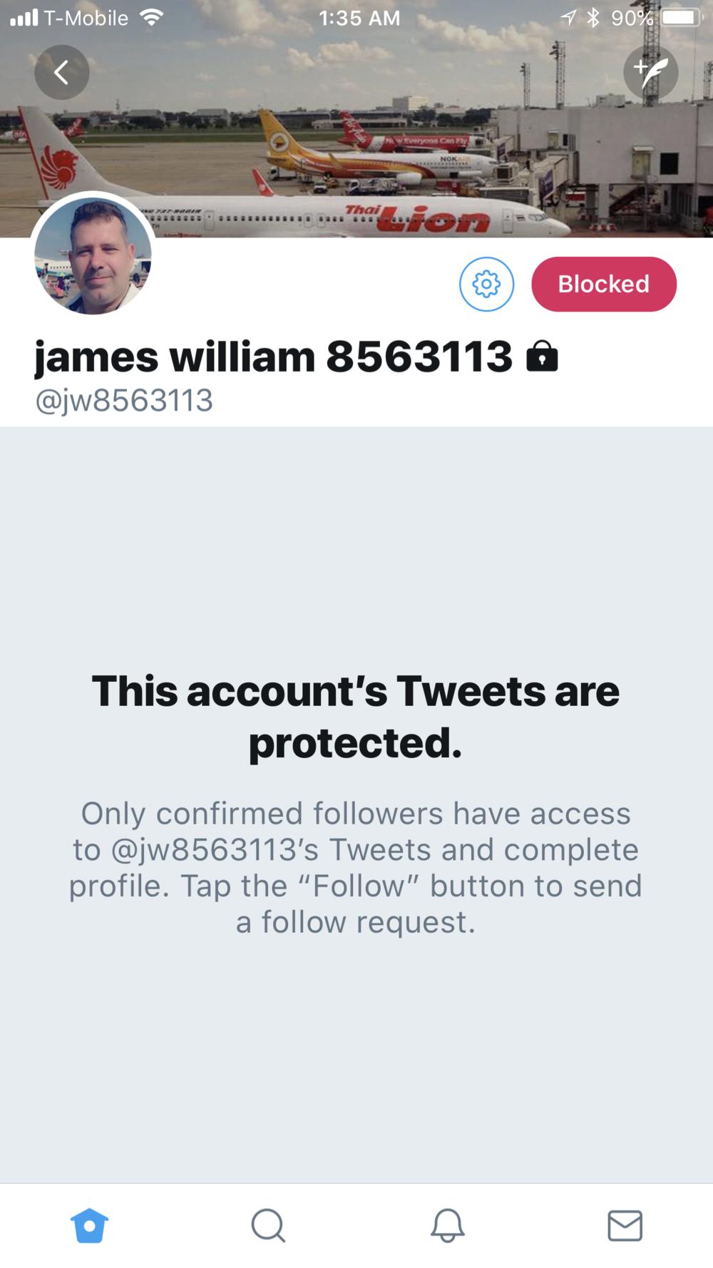 JW Blocked