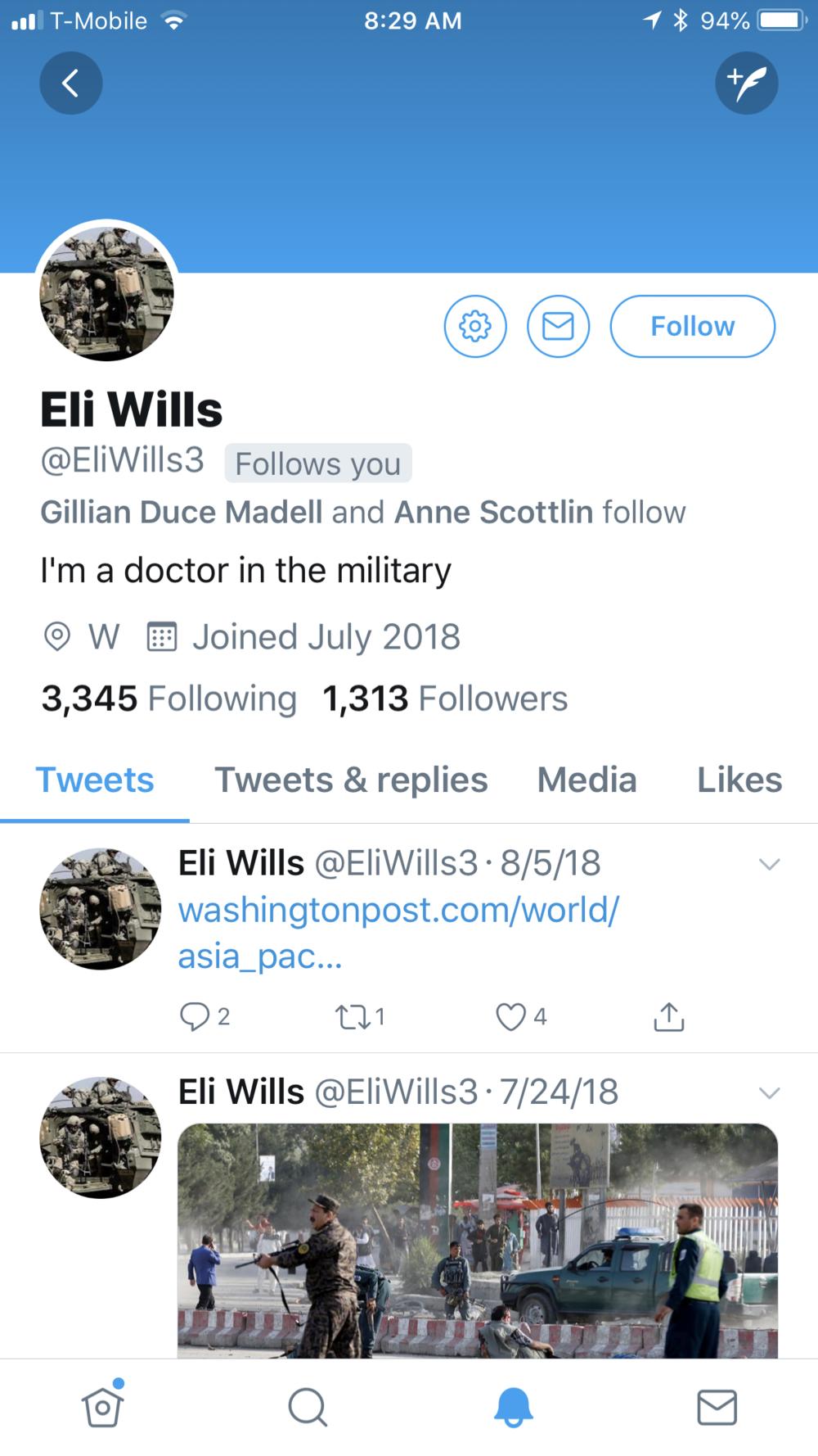 Eli Wills