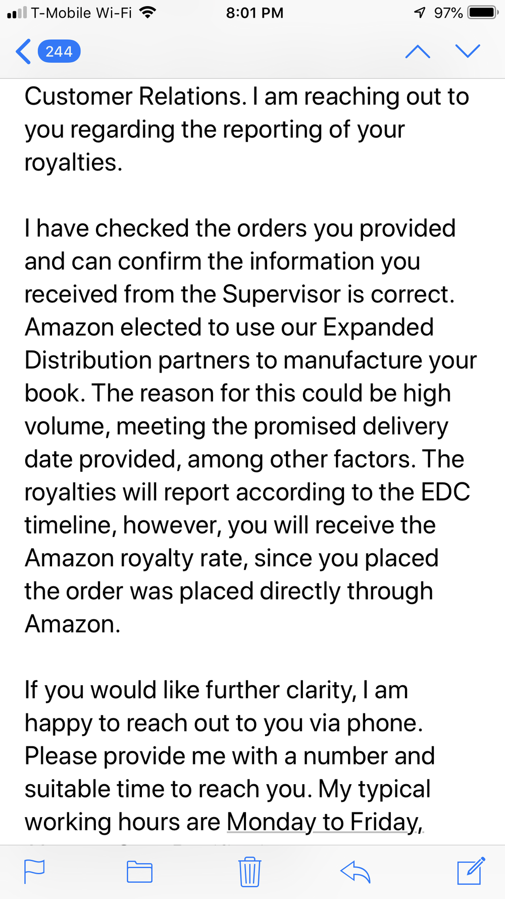 "I opted to order through Amazon and to earn a $1 digital credit. - Amazon Digital Services in this email is blatantly deemed an ""Expanded distributor"""