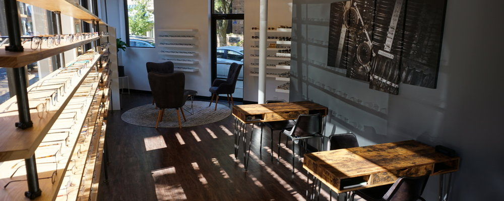 Comprehensive Eye Care - In a relaxed, neighborhood boutique