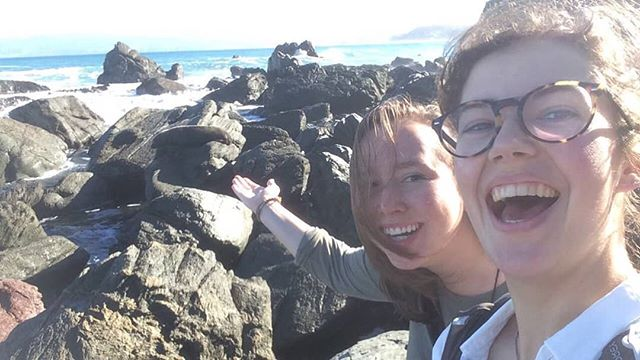 We both studied abroad in New Zealand where the wildlife was beautiful, the seals didn't move, and we came up with idea for creating a company focusing on improving cancer detection. Known colloquially as Kreyla, you will rarely see one without the other.