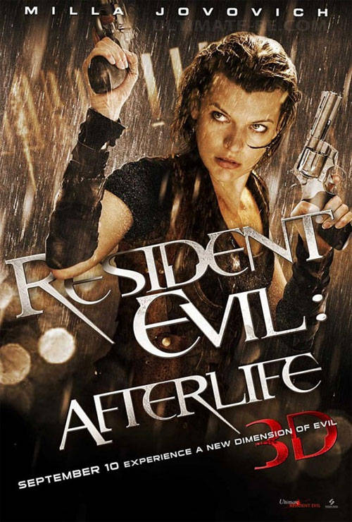 Resident Evil Afterlife 3d The Scorecard Review