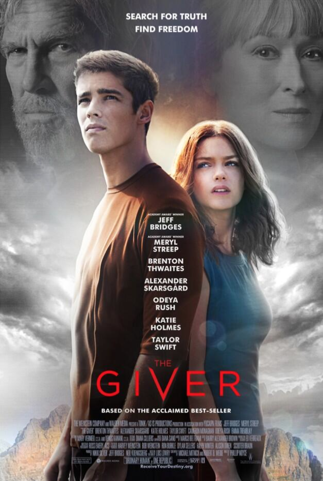 Tsr Exclusive The Giver Interview With Actors Brenton